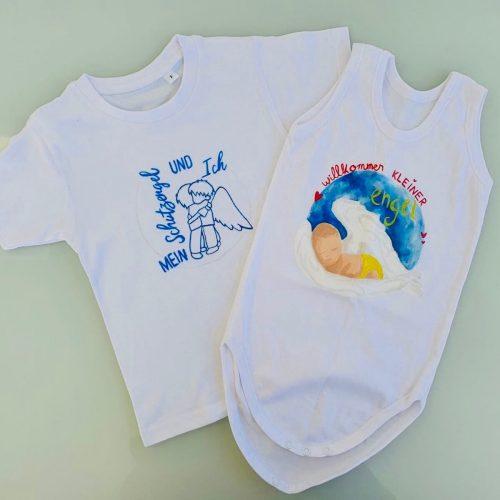 Babybody und Kinder-T-Shirt [Designed by Vanessa Simmerock]